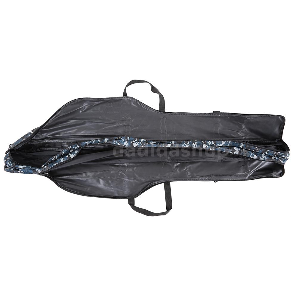 Fishing rod carrier fishing pole tools storage bag case for Fishing rod tote