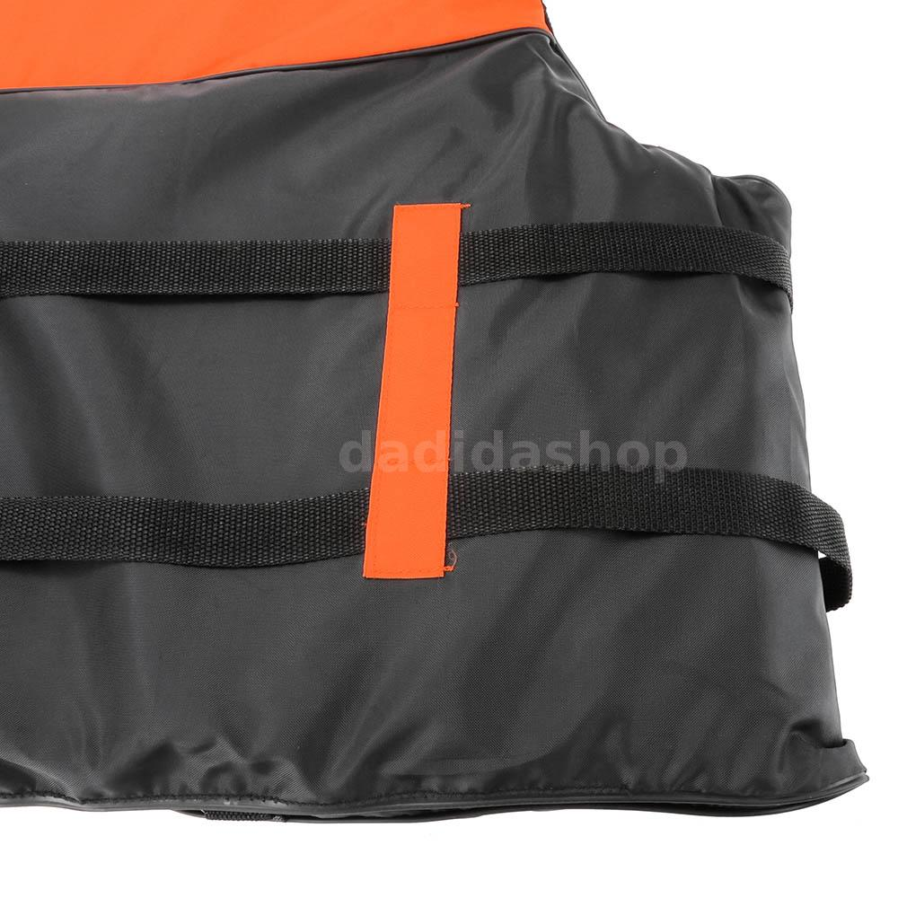 New fishing life jacket safety vest kayak canoe boat with for Kayak fishing vest